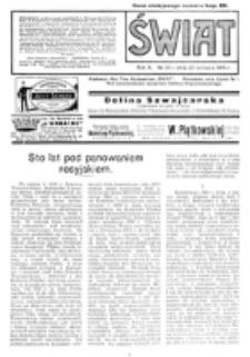 Świat : pismo tygodniowe ilustrowane poświęcone życiu społecznemu, literaturze i sztuce. R. 10 (1915), nr 26 (26 czerwca)
