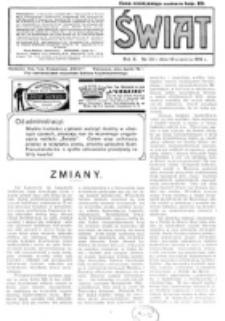 Świat : pismo tygodniowe ilustrowane poświęcone życiu społecznemu, literaturze i sztuce. R. 10 (1915), nr 38 (18 września)