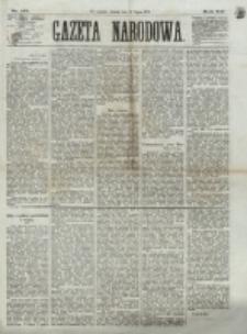 Gazeta Narodowa. R. 12, nr 177 (26 lipca 1873)