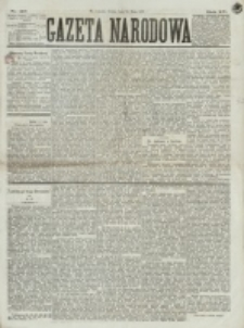 Gazeta Narodowa. R. 15 (1876), nr 110 (13 maja)