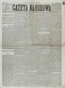 Gazeta Narodowa. R. 15 (1876), nr 117 (21 maja)