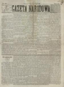 Gazeta Narodowa. R. 15 (1876), nr 185 (13 sierpnia)