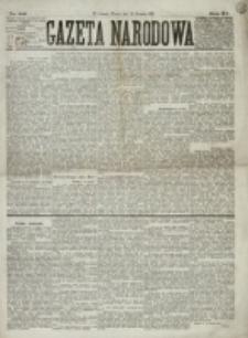 Gazeta Narodowa. R. 15 (1876), nr 186 (15 sierpnia)