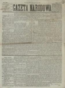 Gazeta Narodowa. R. 15 (1876), nr 191 (22 sierpnia)
