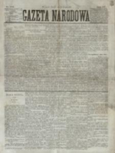 Gazeta Narodowa. R. 15 (1876), nr 190 (20 sierpnia)