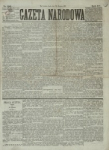 Gazeta Narodowa. R. 15 (1876), nr 192 (23 sierpnia)