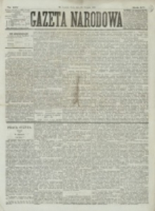 Gazeta Narodowa. R. 15 (1876), nr 198 (30 sierpnia)