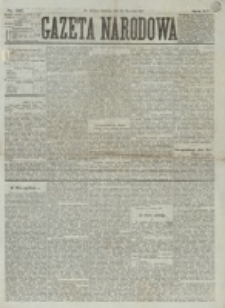 Gazeta Narodowa. R. 15 (1876), nr 219 (24 września)