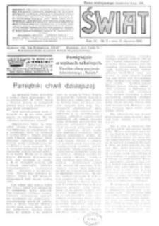 Świat : pismo tygodniowe ilustrowane poświęcone życiu społecznemu, literaturze i sztuce. R. 11 (1916), nr 3 (15 stycznia)