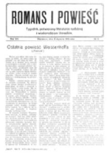 Romans i Powieść. R. 8, nr 2 (8 stycznia 1916)