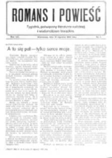Romans i Powieść. R. 8, nr 3 (15 stycznia 1916)