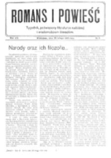 Romans i Powieść. R. 8, nr 9 (26 lutego 1916)