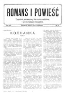 Romans i Powieść. R. 8, nr 11 (11 marca 1916)