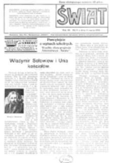 Świat : pismo tygodniowe ilustrowane poświęcone życiu społecznemu, literaturze i sztuce. R. 11 (1916), nr 11 (11 marca)