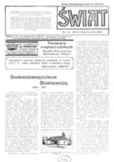 Świat : pismo tygodniowe ilustrowane poświęcone życiu społecznemu, literaturze i sztuce. R. 11 (1916), nr 15 (8 kwietnia)