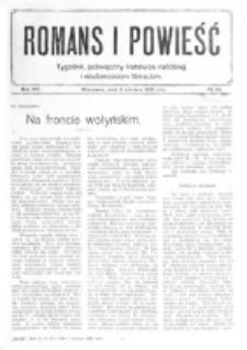Romans i Powieść. R. 8, nr 23 (3 czerwca 1916)