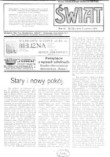 Świat : pismo tygodniowe ilustrowane poświęcone życiu społecznemu, literaturze i sztuce. R. 11 (1916), nr 23 (3 czerwca)
