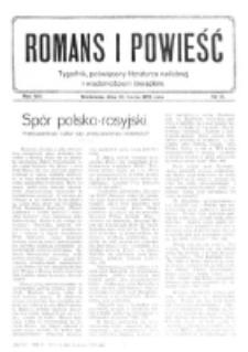Romans i Powieść. R. 8, nr 13 (25 marac 1916)