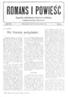 Romans i Powieść. R. 8, nr 24 (10 czerwca 1916)