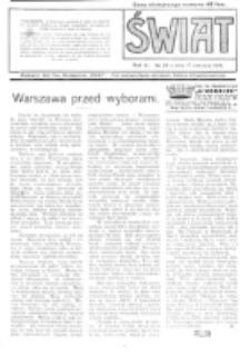Świat : pismo tygodniowe ilustrowane poświęcone życiu społecznemu, literaturze i sztuce. R. 11 (1916), nr 25 (17 czerwca)