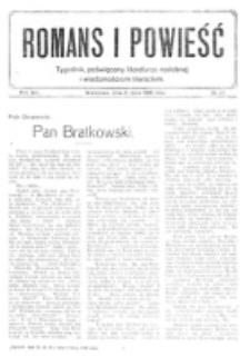 Romans i Powieść. R. 8, nr 28 (8 lipca 1916)