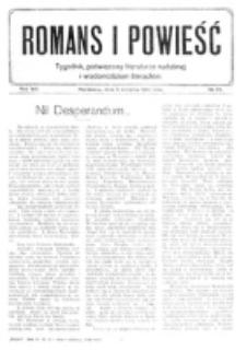 Romans i Powieść. R. 8, nr 32 (5 sierpnia 1916)