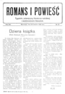 Romans i Powieść. R. 8, nr 35 (26 sierpnia 1916)