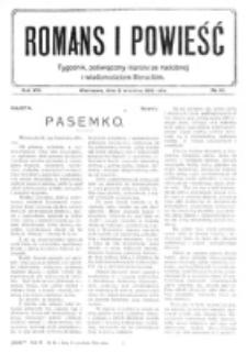 Romans i Powieść. R. 8, nr 36 (2 września 1916)