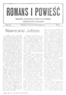 Romans i Powieść. R. 8, nr 40 (30 września 1916)