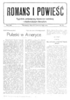 Romans i Powieść. R. 8, nr 39 (23 września 1916)