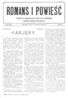 Romans i Powieść. R. 8, nr 46 (11 listopada 1916)