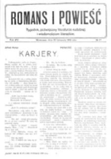 Romans i Powieść. R. 8, nr 47 (18 listopada 1916)