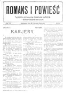 Romans i Powieść. R. 8, nr 48 (25 listopada 1916)