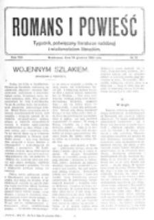 Romans i Powieść. R. 8, nr 51 (16 grudnia 1916)