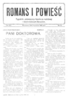 Romans i Powieść. R. 8, nr 50 (9 grudnia 1916)