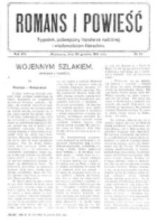 Romans i Powieść. R. 8, nr 53 (30 grudnia 1916)