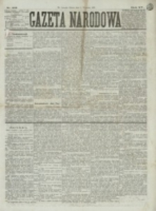 Gazeta Narodowa. R. 15 (1876), nr 201 (2 września)
