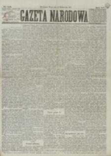Gazeta Narodowa. R. 15 (1876), nr 231 (10 października)