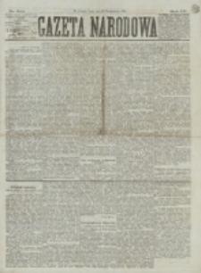 Gazeta Narodowa. R. 15 (1876), nr 244 (25 października)