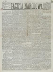 Gazeta Narodowa. R. 15 (1876), nr 245 (29 października)