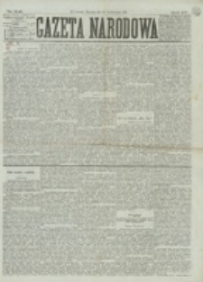 Gazeta Narodowa. R. 15 (1876), nr 248 (29 października)