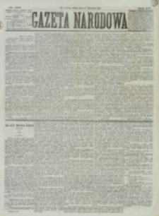 Gazeta Narodowa. R. 15 (1876), nr 258 (11 listopada)