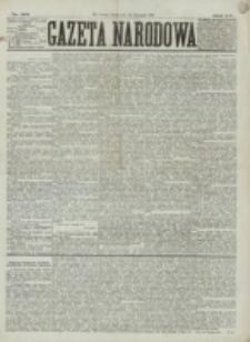 Gazeta Narodowa. R. 15 (1876), nr 261 (15 listopada)