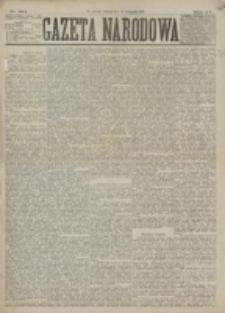 Gazeta Narodowa. R. 15 (1876), nr 264 (18 listopada)