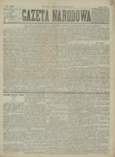 Gazeta Narodowa. R. 15 (1876), nr 262 (16 listopada)