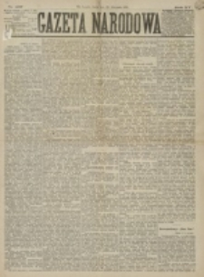Gazeta Narodowa. R. 15 (1876), nr 267 (22 listopada)
