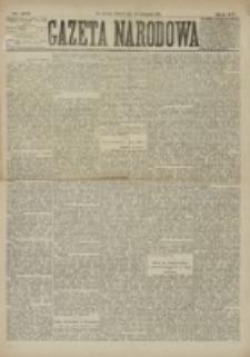 Gazeta Narodowa. R. 15 (1876), nr 272 (28 listopada)