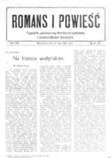Romans i Powieść. R. 8, nr 19-20 (13 maja 1916)
