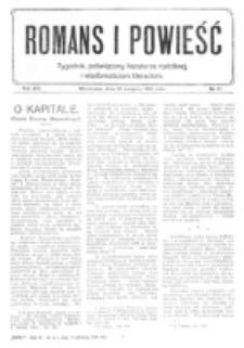 Romans i Powieść. R. 8, nr 34 (19 sierpnia 1916)
