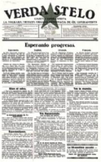 Verda Stelo : gazeto esperantista la malkara monata organo internacia de ĉiu esperantisto. N-ro 1 (Oktobro 1926)